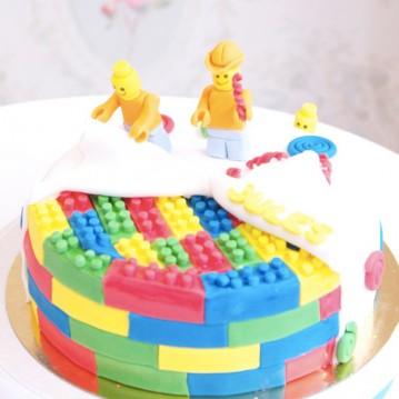 Gâteau Lego Personnages