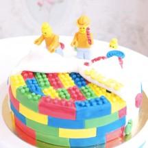 Gâteau Lego - Sculpture