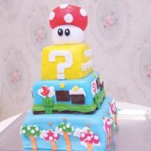 Gateau Super Mario Bros