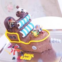Gâteau Jack le Pirate - 3D