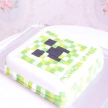 Gâteau Mine Craft