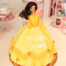 Gâteau Princesse Belle 3