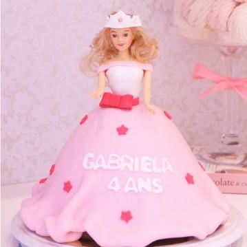 Gâteau Princesse Etoiles 2