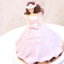 Gâteau Princesse Fée 2