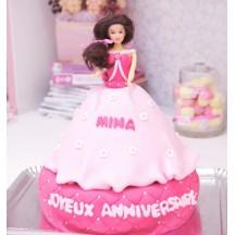 Gâteau Princesse Fleurs