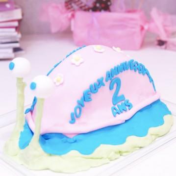 Gâteau Escargot