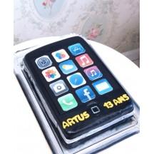Gâteau iPad Noir