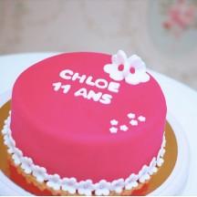 Gâteau Fleurs 2