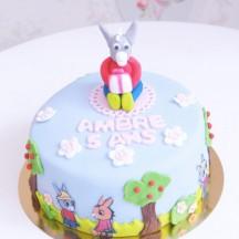 Gâteau Ane Tro Tro - Sculpture