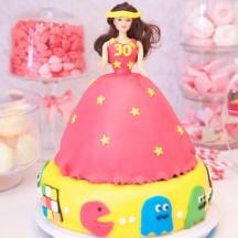 Gâteau Princesse Disco