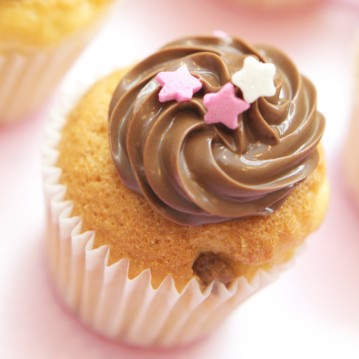 Cupcake Vanille Nutella