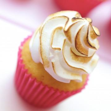 Cupcake Citron Meringué