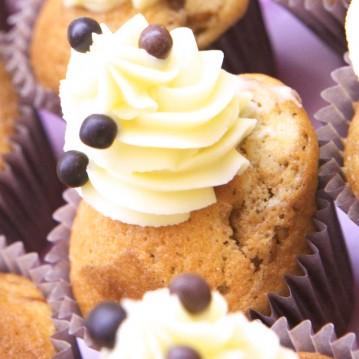 Cupcake Marbré Café