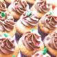 Cupcake Praliné Chocolat au lait