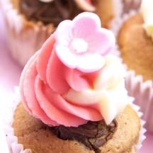 Cupcake Praliné Chocolat blanc