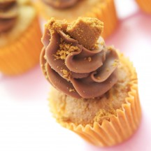 Cupcake Pomme Cannelle, chocolat au lait et speculoos