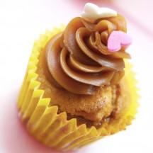 Cupcake Banane Caramel Beurre Salé