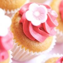 Cupcake Vanille Framboise