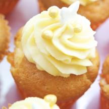Cupcake Vanille Abricot