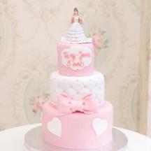 Gâteau Pièce montée - Figurine Mariée