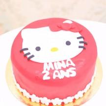 Gâteau Hello Kitty - Silhouette