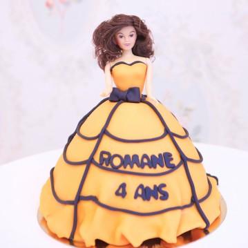 Gâteau Princesse Halloween