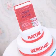 Gâteau Pièce montée Code du Travail
