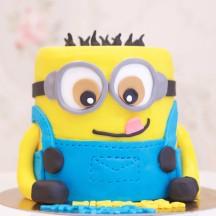 Gâteau Minion - 3D