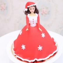 Gâteau Princesse Noel