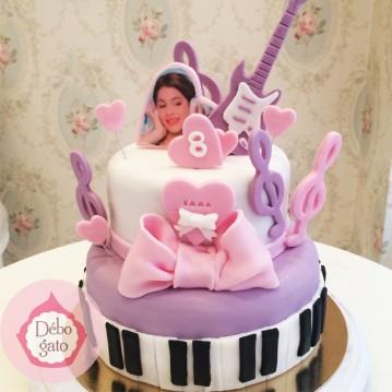 Gâteau Violetta - Guitare