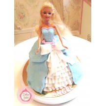 Gâteau Princesse robe longue