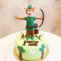 Gâteau Robin des bois
