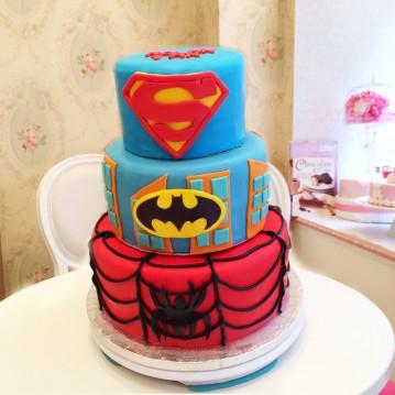Gâteau Superhéros - Gotham City