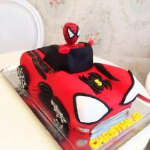 Gâteau Spiderman Car