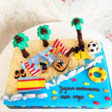 Gâteau Plage