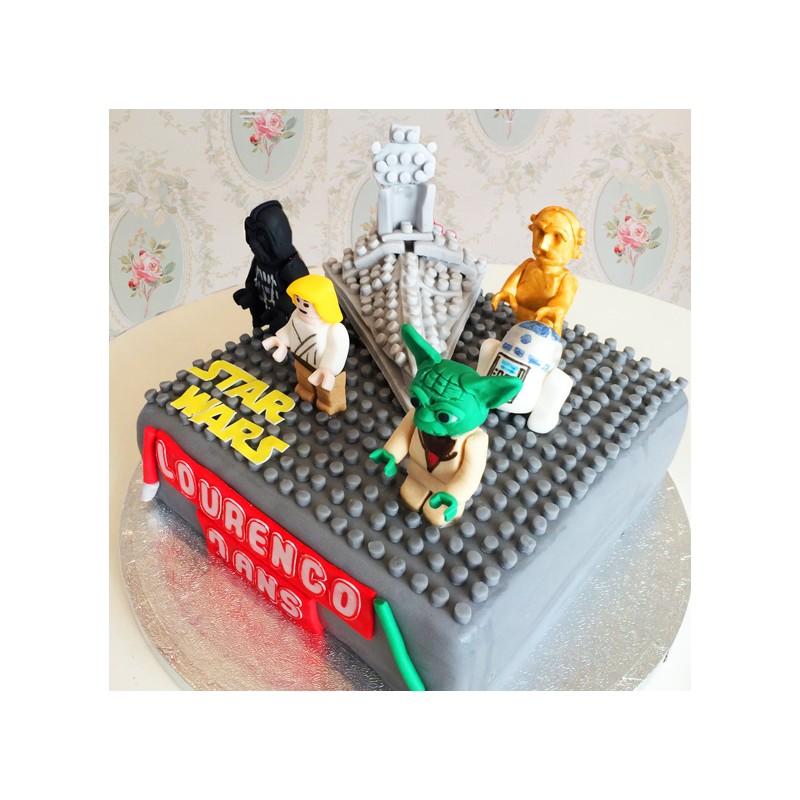 Fabuleux Gâteau Lego Star Wars - Debogato Paris FZ71