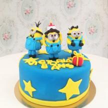 Gâteau Minions Sculpture