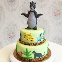 Gâteau Livre de la Jungle