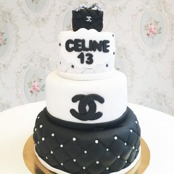 Gâteau couture-sculpture sac