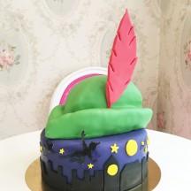 Gâteau Peter Pan chapeau