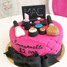Gâteau Make up