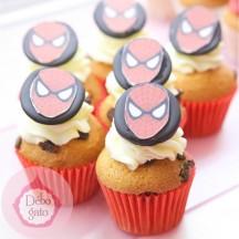 Mini Cupcakes Super Héros