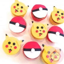 Mini Cupcakes Pokemon