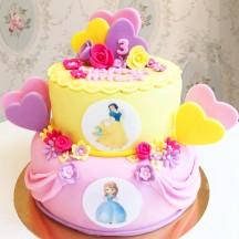 Gâteau Princesse Pièce montée