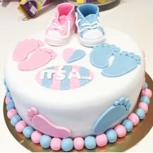 Gâteau Baby Shower It' s a