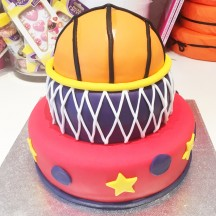 Gâteau Basket Ball