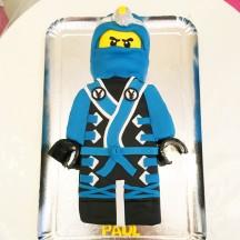 Gâteau Ninjago Bleu