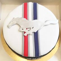 Gâteau Mustang