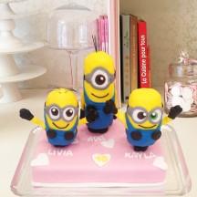 Gâteau 3 Minions