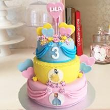 Gâteau Princesse pièce montée GM